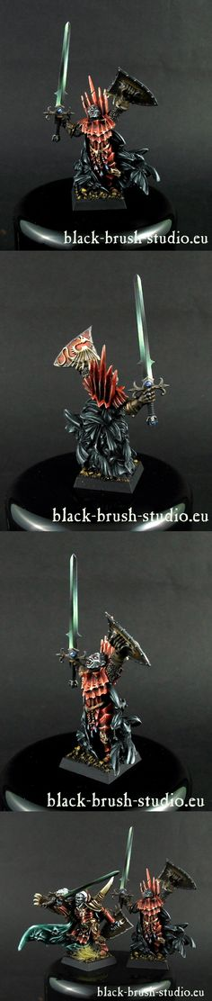 CoolMiniOrNot - Konrad von Carstein by Black Brush Studio