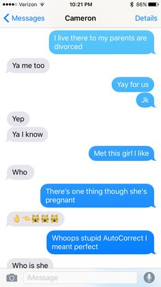 Me and my friends were talking and autoCorrect screwed it up😅