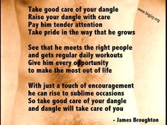 """Take good care of your dangle! Image from James Broughton's film, """"Golden Positions."""" #quote #JamesBroughton Watch the film, BIG JOY: THE ADVENTURES OF JAMES BROUGHTON www.bigjoy.org #poetry #bigjoy #bigjoythefilm #film #documentary #inspirational #aritst #poet"""