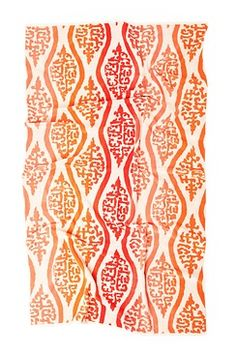 Comfy, oversized ombre beach towel
