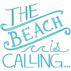 Showcase your love for the seashore every day with the WallPops Beach is Calling Wall Quote Decal . This vinyl decal accents your living space with vibrant,.