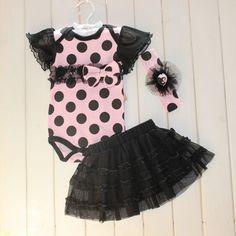 $5.91 (Buy here: https://alitems.com/g/1e8d114494ebda23ff8b16525dc3e8/?i=5&ulp=https%3A%2F%2Fwww.aliexpress.com%2Fitem%2FNewborn-Infant-Baby-Girls-Sets-Polka-Dot-Headband-Romper-TUTU-Outfit-Clothes%2F32621545843.html ) Newborn Infant Baby Girls Sets Polka Dot Headband+Romper+TUTU Outfit Clothes for just $5.91