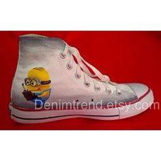 Minion Shoes - Converse on Etsy, $79.00