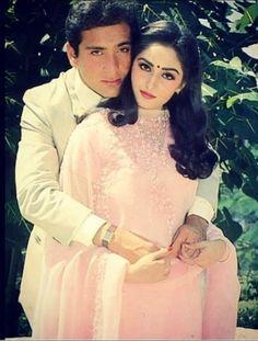 Jaya Prada with Rajiv Kapoor Rajiv Kapoor, Randhir Kapoor, 80s Actresses, Indian Actresses, Hema Malini, Vintage Bollywood, Indian Movies, Most Beautiful Indian Actress, Bollywood Actors