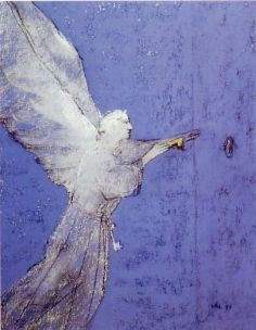 The angel with the gold and the silver key - Juke Hudig (Divina commedia)