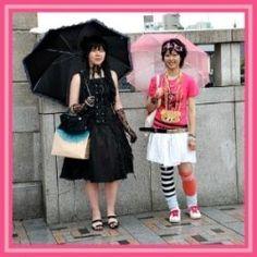 Japanese Harajuku Fashion & Costumes