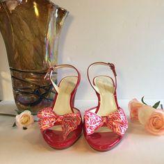 Final Price Drop! Anne Klein Pink Confetti Bows