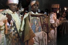 Orthodox Easter in Lalibela, one of Ethiopia's holiest cities.