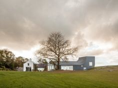 House in Inchigeelagh, County Cork, Markus Schietsch Architekten, Urban Architecture, Commercial Architecture, Houses In Ireland, Brazilian Hardwood, Steel Siding, Irish Cottage, A Frame House, Wallpaper Magazine, Home Comforts