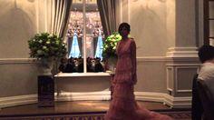 This pink wedding dress 2016 from Sanyukta Shrestha called 'Eartha' http://www.londonfittingrooms.com/bridal-alterations/