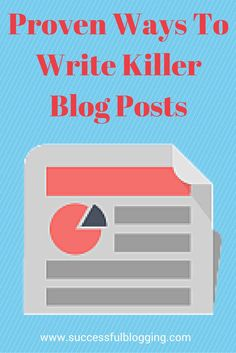 Get more blog readers by writing killer blog posts