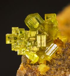 Saleeite is a secondary uranium mineral occurring in the oxidized zones of uranium deposits Cool Rocks, Beautiful Rocks, Minerals And Gemstones, Rocks And Minerals, Buy Gemstones, Meditation Crystals, Healing Crystals, Rocks And Gems, Stones And Crystals