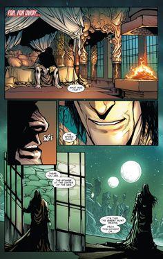 Morlun awakens in Amazing Spider-Man #4 (vol. 3)