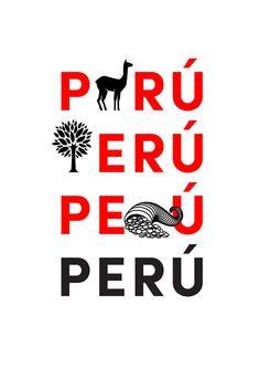 Nuevo Escudo Peruano by IS Creative Studio., via Behance