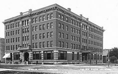 """The Gardner Hotel Fargo ND named after Frank C. Gardner, the head of a group of Fargo investors, located at 26 Roberts Street. The grand opening of the hotel took place on January 14, 1909, and  cost nearly $250,000 to build. A 1912 travel brochure published for the Gardner Hotel, states the Gardner had 150 rooms: 25 """"Combination Sample Rooms, with Bath"""" from $3 to $4; 70 rooms with running water ($1.50 to $2); and 80 rooms with a bath ($2 to $4)."""