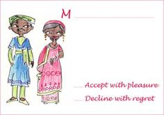 Tamil Wedding Party RSVP Card. More Information. More Information. Couples Invitation  Free Printable For #wedding ...