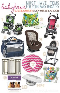 Baby Registry Recommendations: Top 10 Favorites of Essential Gear