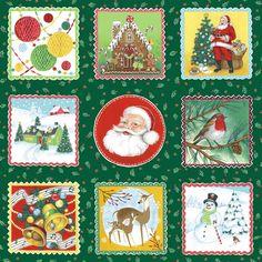 Christmas retro labels 1250