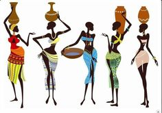 Illustration about Fragile and beautiful african women - vector illustration. Illustration of isolated, africa, indigenous - 17340606 American Art, African, African Women Art, Art Painting, Tribal Art, Female Art, Art, Canvas Art, Africa Art