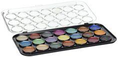 Amazon.com: Yasutomo Pearlescent Watercolor Set, 21-Colors: Art Paints: Artwork