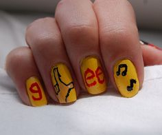 glee nails