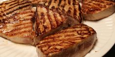 Lidey's Table - Grilled Tuna Steaks