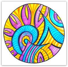 Intuitive Mandala #36 - Shelley Klammer