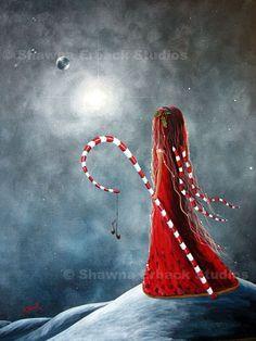 Candy cane fairy - Shawna Erback