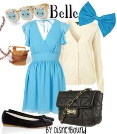 Belle - Disney Bound