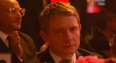 LMAO {Martin Freeman. | 15 Perfect Smiles You Can't Help But Fall In Love With (gif)}