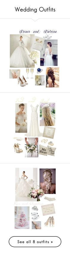 """""""Wedding Outfits"""" by shieldprincess ❤ liked on Polyvore"""