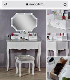 Makeup Dressing Table, Vanity, Mirror, Furniture, Home Decor, Yurts, Vanity Area, Homemade Home Decor, Lowboy