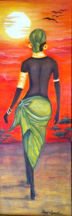 Old master washing papers Black Women Art, Black Art, Art Afro, Tableaux Vivants, Afrique Art, African Art Paintings, African American Art, Woman Painting, Indian Art
