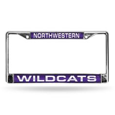 Northwestern State Demons Ncaa Laser Chrome Frame