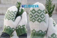 Варежки от Drops Design с норвежским узором вязаные спицами | Блог elisheva.ru