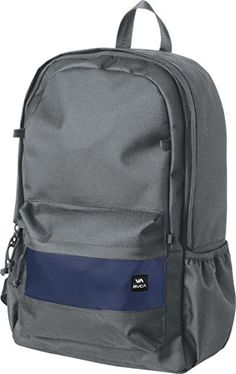 adc4f166bd RVCA Mens Frontside Backpack Dark Grey    You can find out more details at  the link of the image.(It is Amazon affiliate link)  onlineshopping