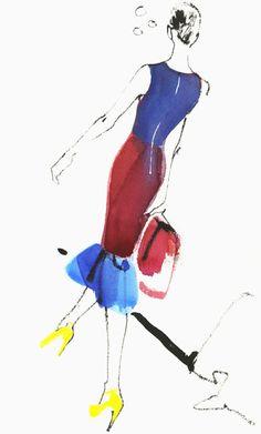 David Downton London Fashion Week - Roksanda