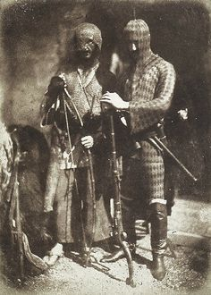 Circassian armour, worn by people's militia and volunteers. Late-Ottoman era, 1843.