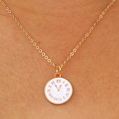 N949 Trendy Tiny Time Pendant Necklace Women Chain Lady Girl Gifts Bijoux Fashion Jewelry Colar Big Promotion