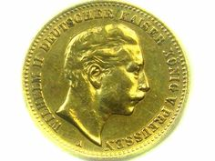 1904 PRUSSIA 10 MARK WILHELM 11 GOLD COIN CO338 1904 prussia gold coin
