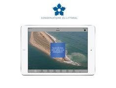Application mobile sur mesure - Conservatoire du littoral - Espace documentaire