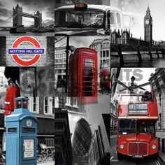 Poster: London - photography zum Verkauf online. Bestellen Sie Ihre Poster, Ihre 3D Film-Poster oder ähnliches interessantes Deco Block 40x40