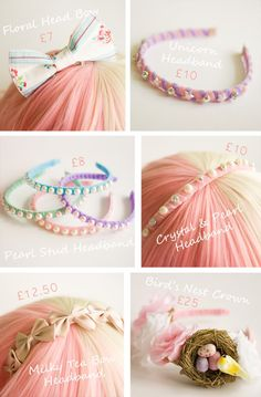 Cupcake's Clothes: Headbands & Bows