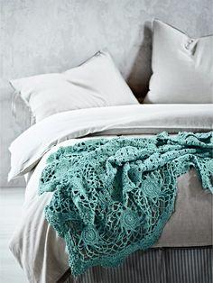 Crochet throw, AURA Home