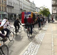 Bike lane in Groningen, NL--the city with the highest per capita bike use on the planet. Photo: Byron Miller. click image for link to full profile and visit the slowottawa.ca boards >> https://www.pinterest.com/slowottawa/