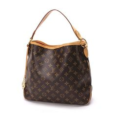 Louis Vuitton Delightful PM Monogram Shoulder bags Brown Canvas M50155