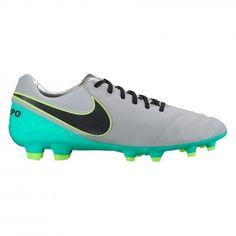 Nike Tiempo Legacy II FG 819218 voetbalschoenen Wolf Grey Black Clear Jade
