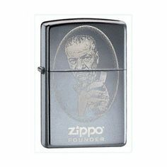 Zippo Zippo Founder, High Polish Chrome Lighter #24197 by Zippo. $30.00. Portrait of Mr. Blaisdell laser engraved on the front.ATTRIBUTESFinish/Material:High Polish ChromeFuel:Lighter FluidGraphic:Zippo FounderSpecial Features:Windproof