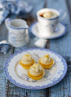 Greengate Lemon cupcakes.