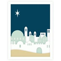 cricut noël christmas crèche Silhouette Design Store: bethlehem silhouette layered a2 card